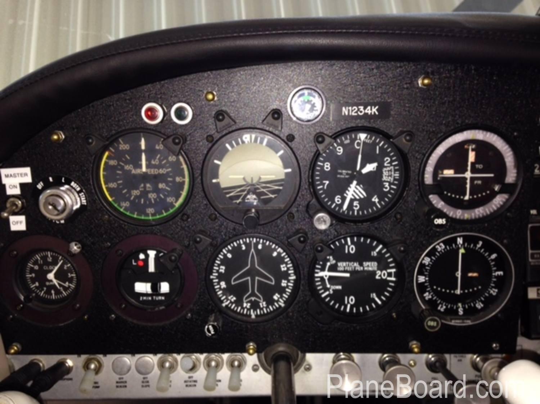 1966 Mooney M20E interior 0