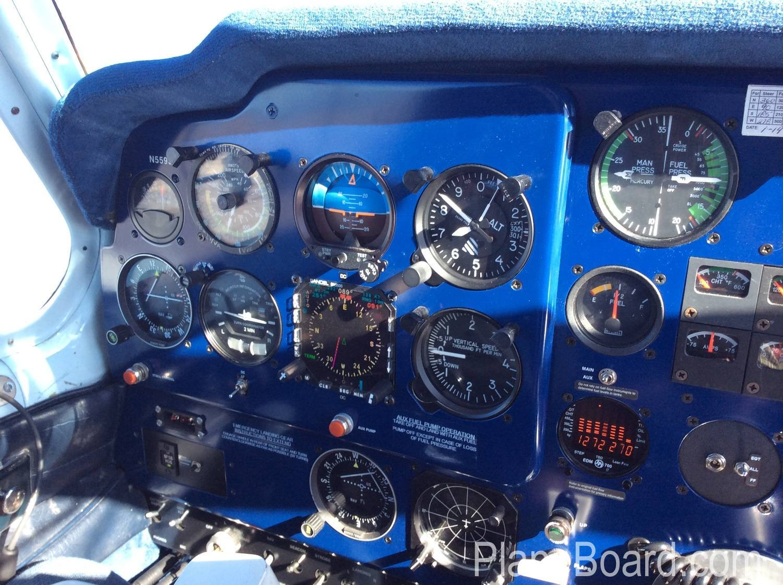 1957 Beechcraft 35 Bonanza interior 5
