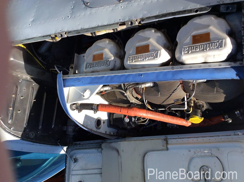 1957 Beechcraft 35 Bonanza interior 10