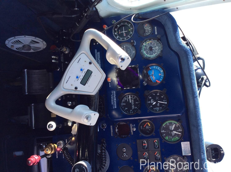 1957 Beechcraft 35 Bonanza interior 11