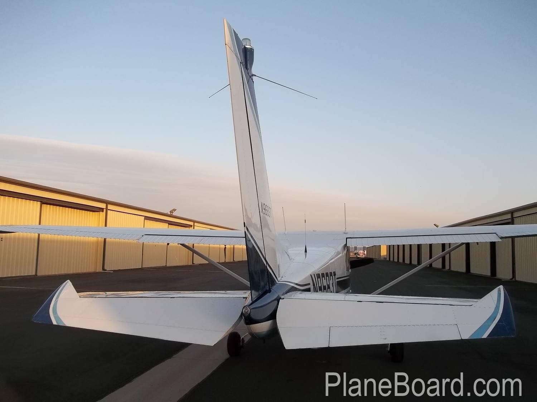 1960 Cessna 210 exterior 2