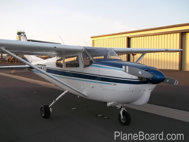 1960 Cessna 210 primary