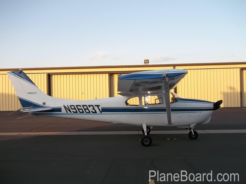 1960 Cessna 210 exterior 6