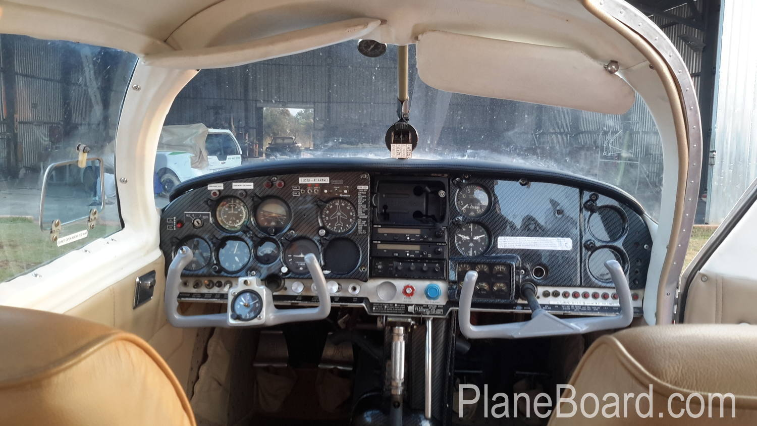 1968 Mooney M20C Ranger interior 2