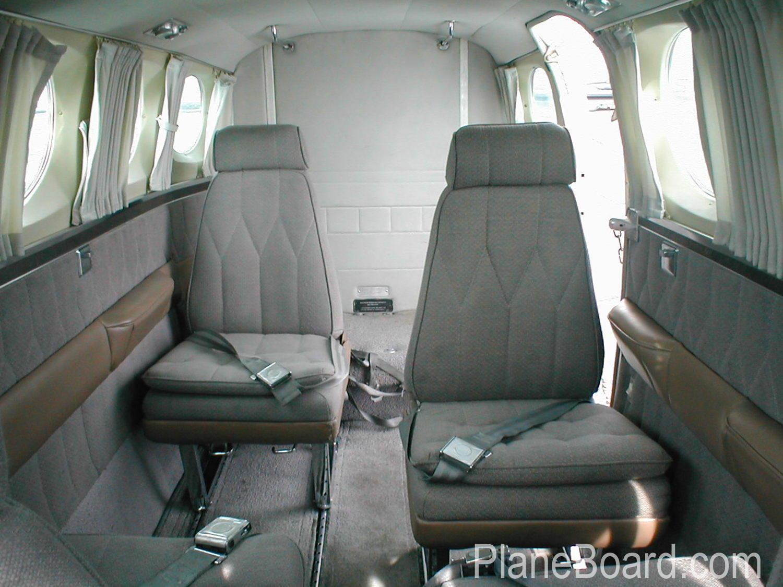 1978 Cessna 340A interior 6