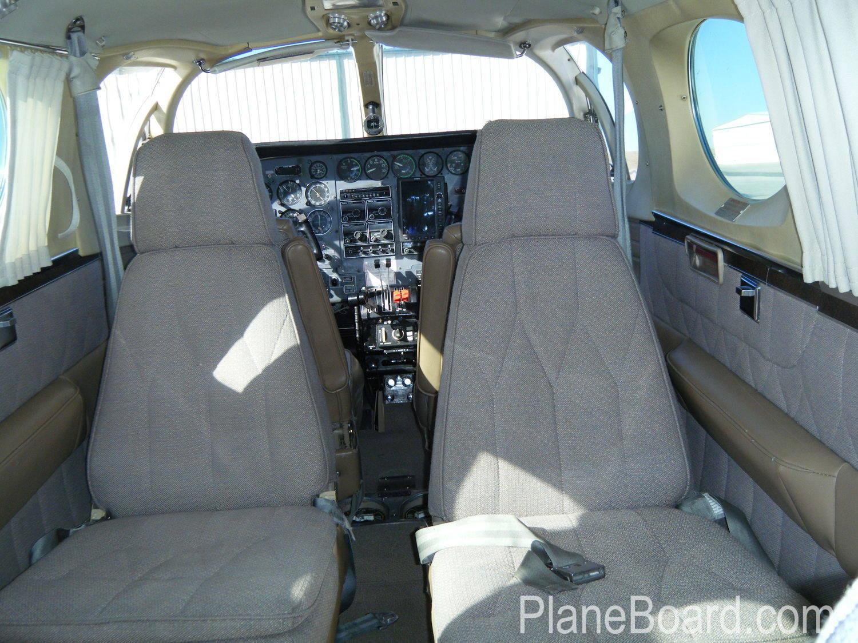 1978 Cessna 340A interior 7