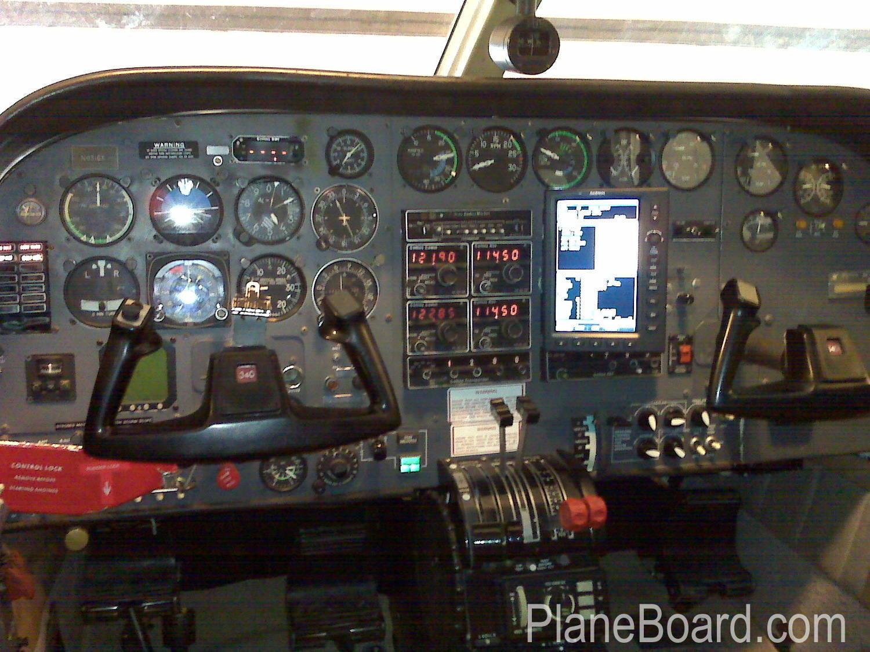 1978 Cessna 340A interior 9