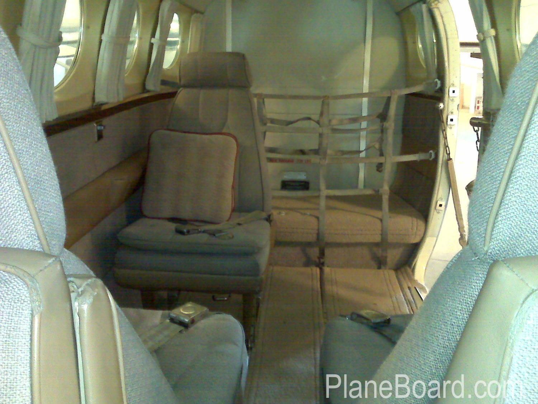 1978 Cessna 340A interior 8