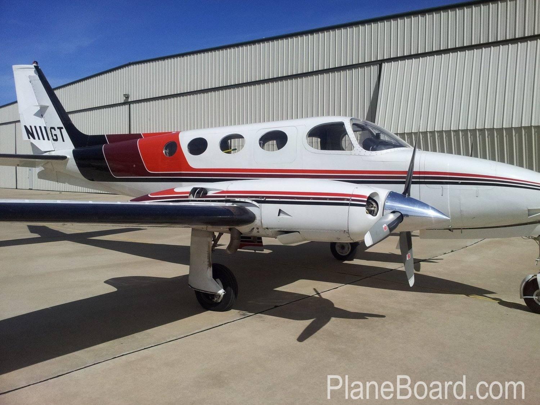 1972 Cessna 340 exterior 0