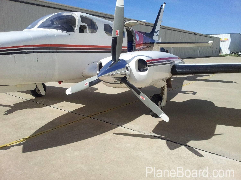 1972 Cessna 340 primary