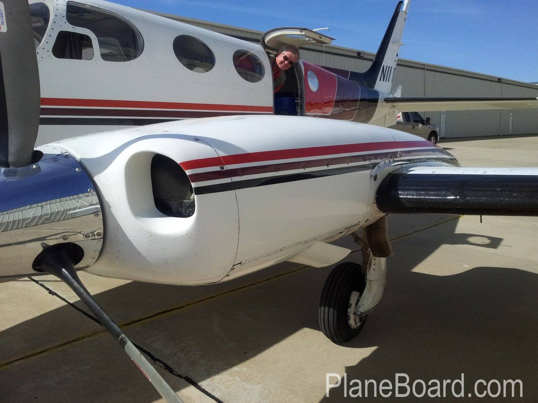 1972 Cessna 340 interior 1
