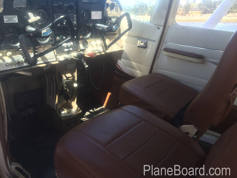 1965 Cessna 182H Skylane interior 0