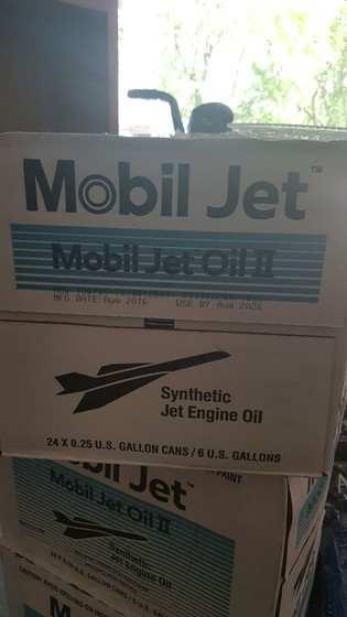 2016 Mobil jet 2 oil