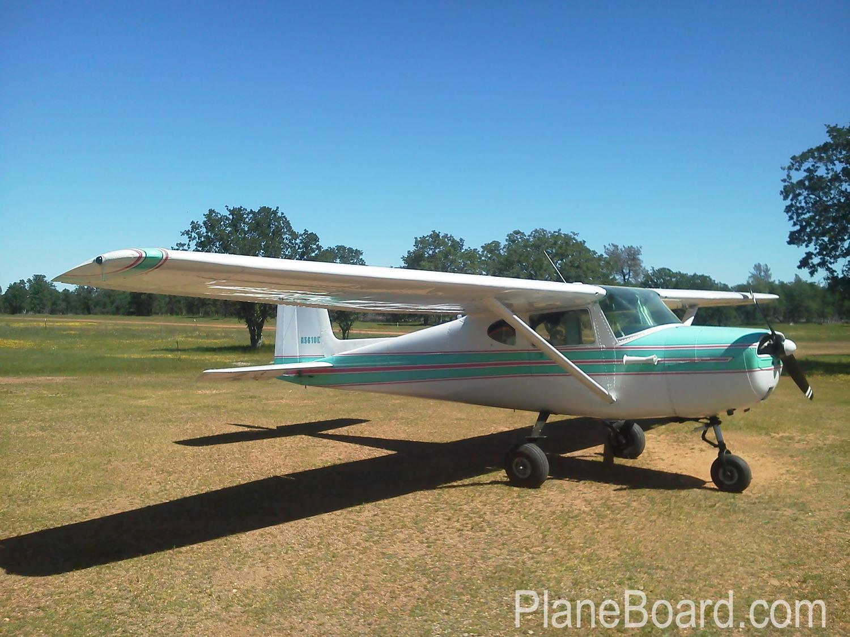 1958 Cessna 150 primary