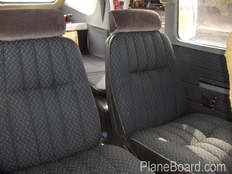 1964 Cessna 210D interior 2