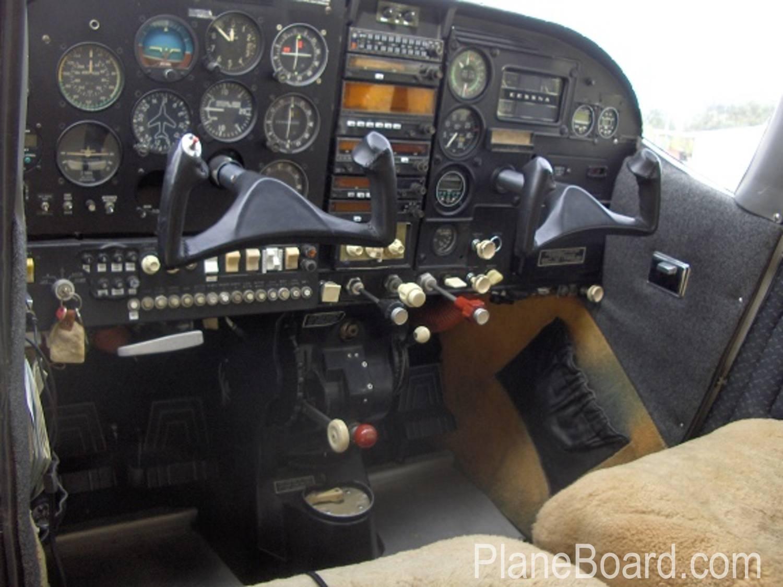 1964 Cessna 210D interior 1