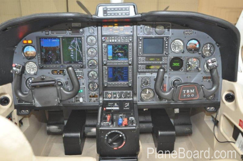 1993 Socata TBM 700 interior 15