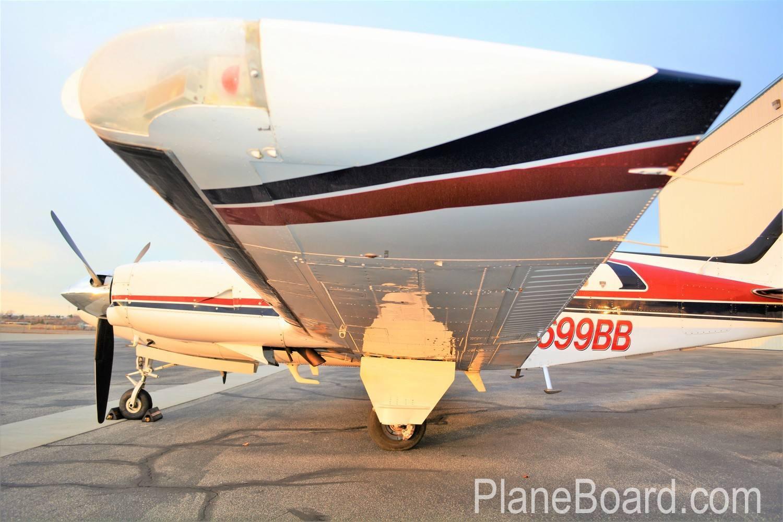 1981 Beechcraft 58P Baron exterior 2
