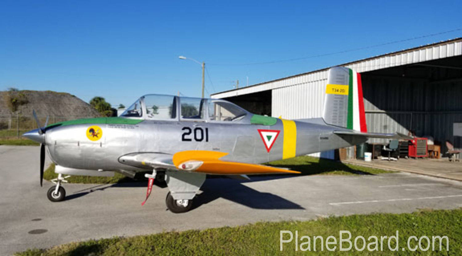 1954 Beechcraft T-34 Mentor primary
