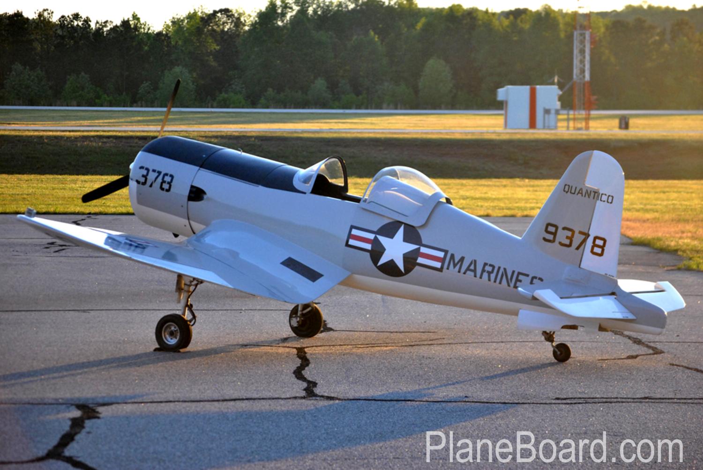 1991 w a r f4u corsair for sale n71723 planeboard