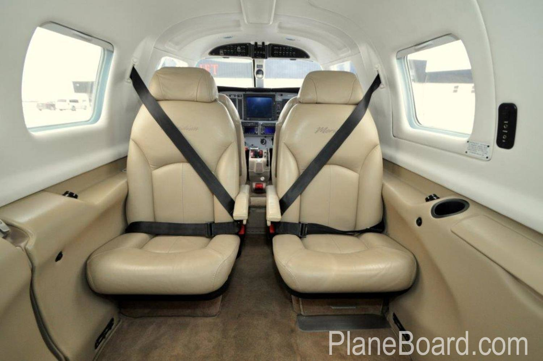 2008 Piper Meridian interior 6