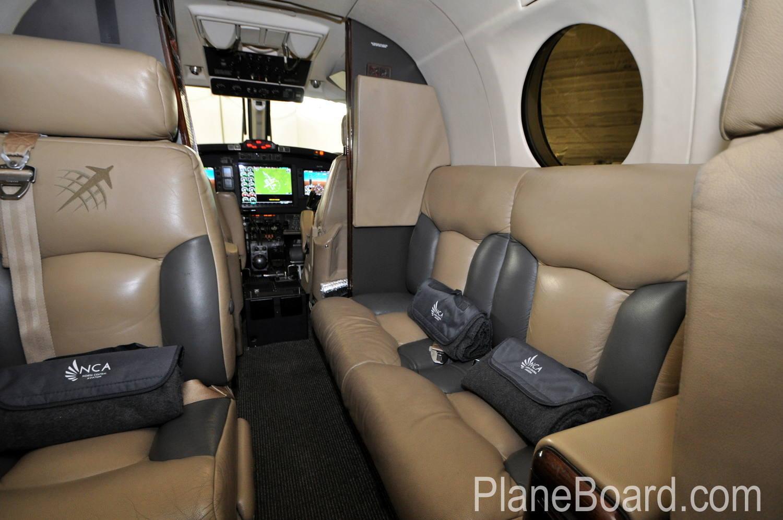 1987 Beechcraft King Air 300 interior 2