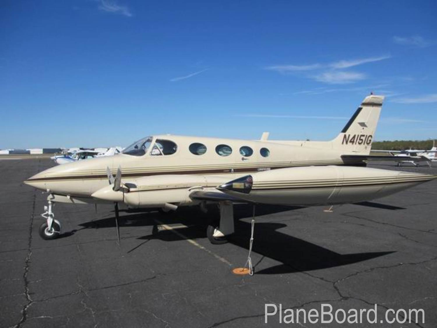 1977 Cessna 340A primary