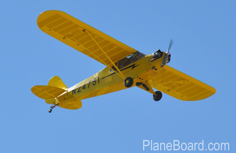 1939 Piper J-3 Cub primary