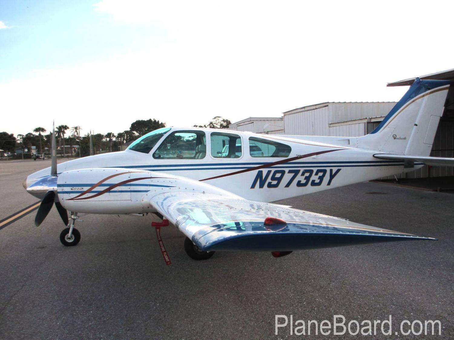 1963 Beechcraft A55 Baron primary