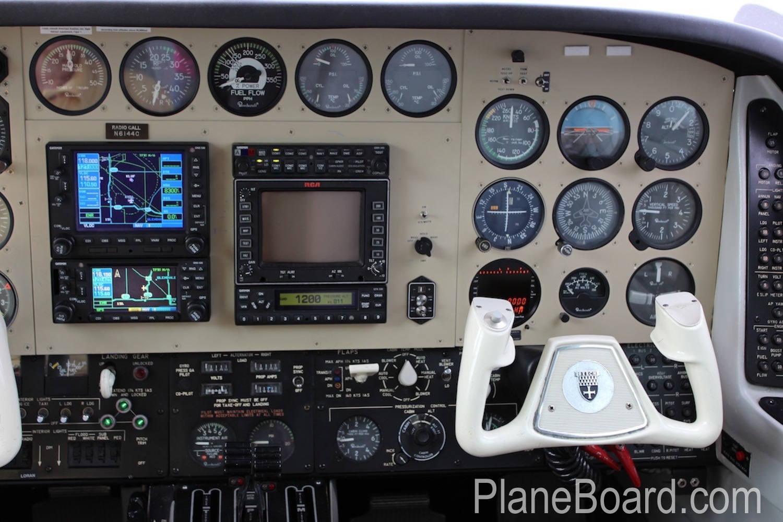 1981 Beechcraft B60 Duke interior 16