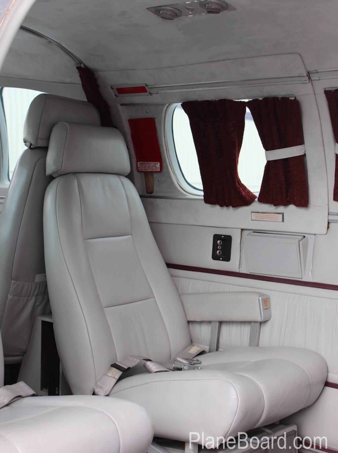 1981 Beechcraft B60 Duke interior 15