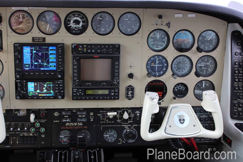 1981 Beechcraft B60 Duke interior 11