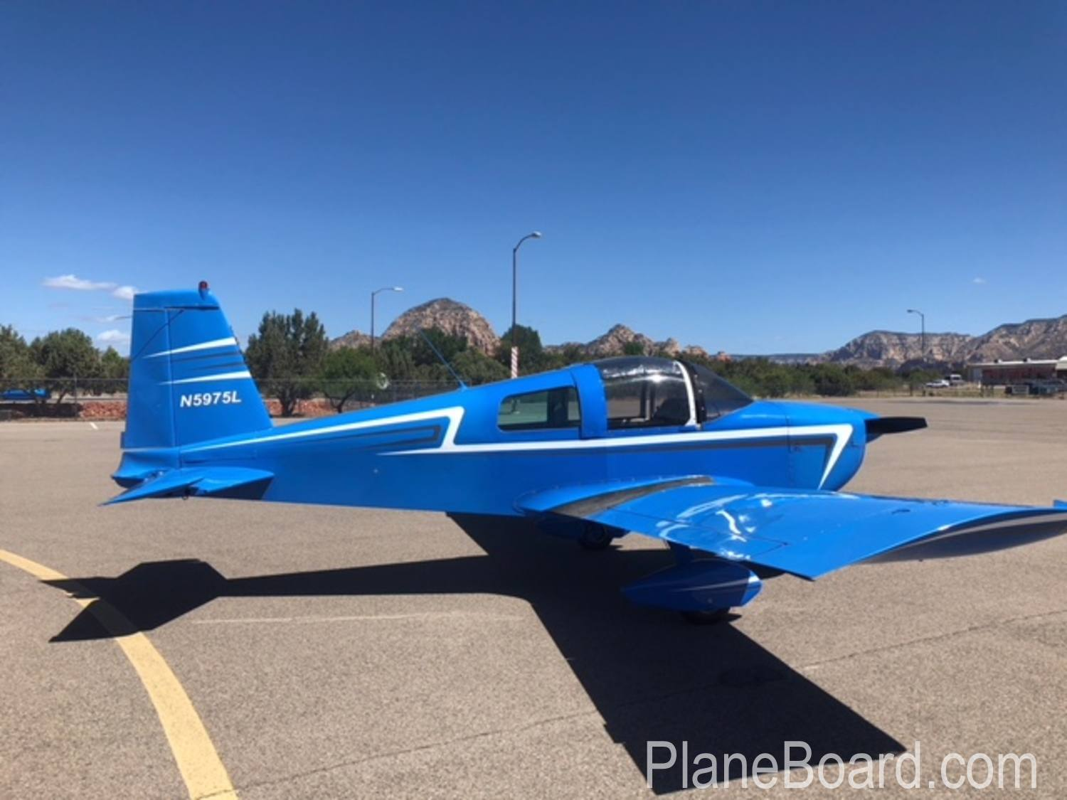 1969 Grumman/American General AA1A primary