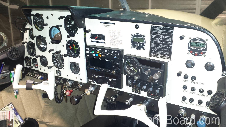 1966 Alon Aircoupe A2 interior 1