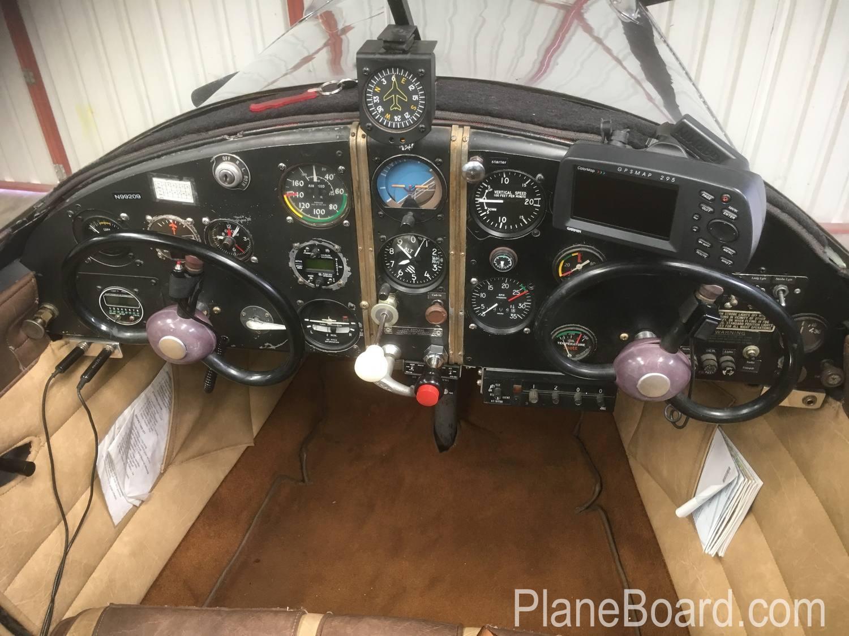 1946 Ercoupe 415-C interior 1