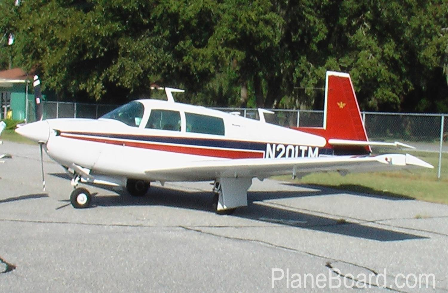 1978 Mooney M20J primary