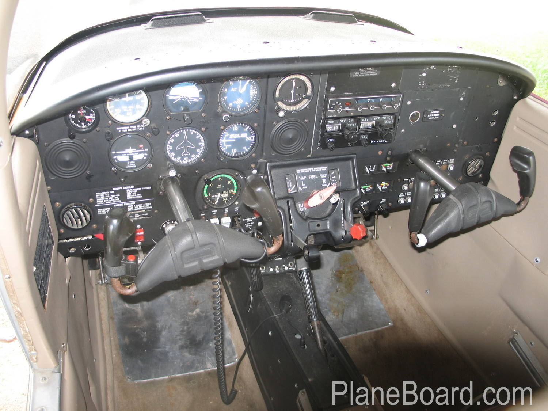 1978 Piper Tomahawk interior 3