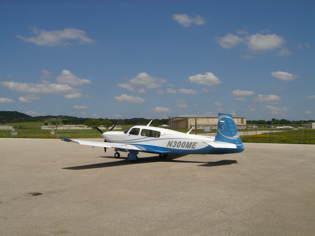 1968 Mooney M20C Mark 21