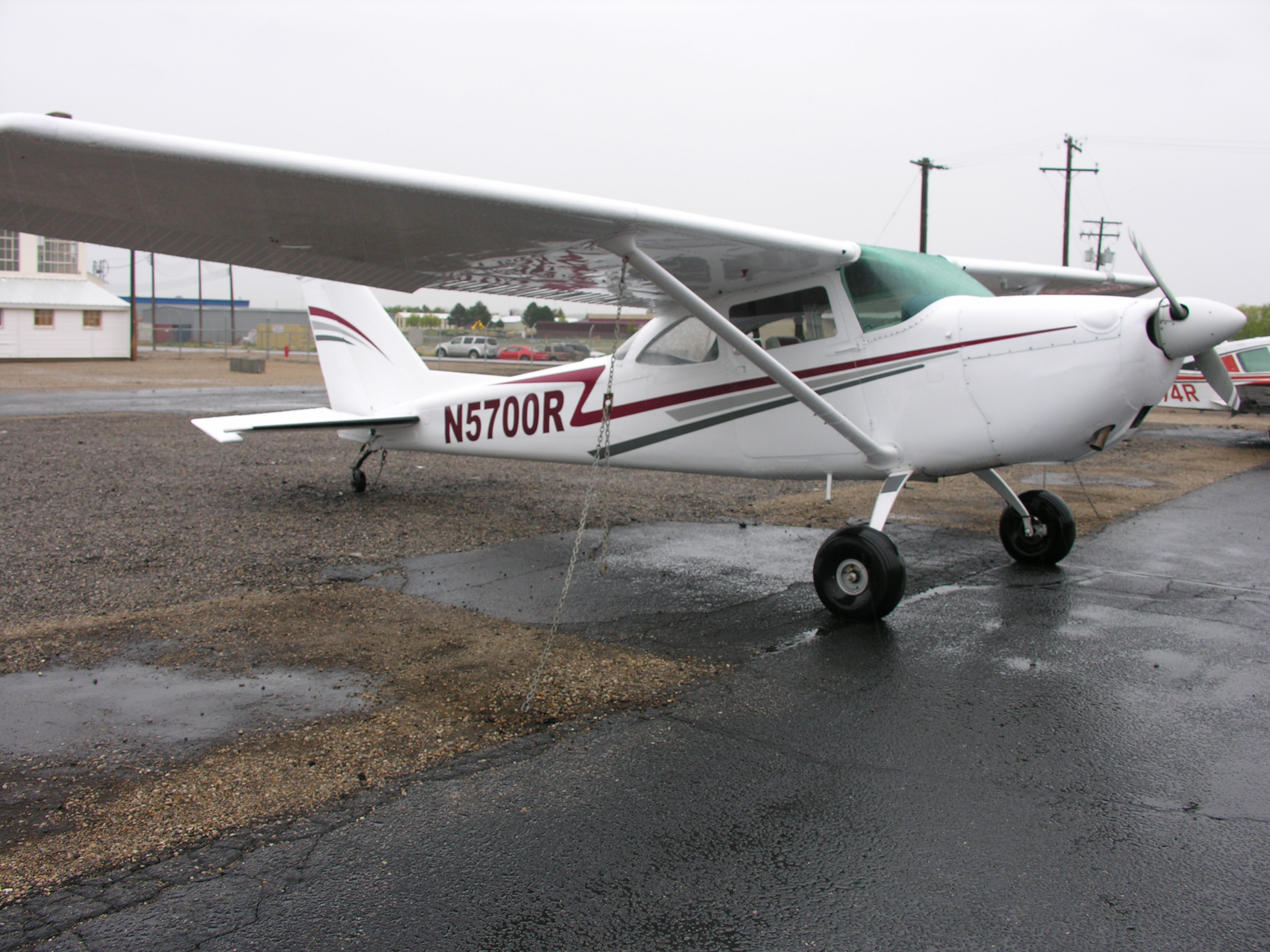 1965 Cessna 172 180 Conversion For Sale N5700r Planeboard