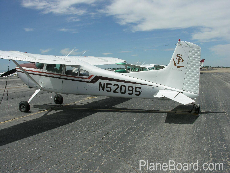 1974 Cessna 180 exterior 0
