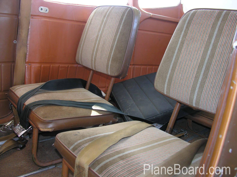 1974 Cessna 180 interior 2